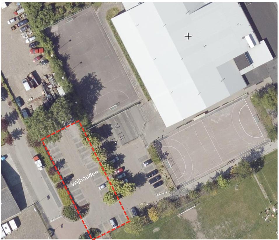 Vrijhouden parkeerplaatsen in week 41