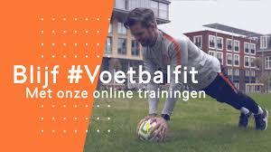 Week 5 van de blijf voetbal fit challenge.